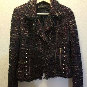 Zara tweed blazer 💕